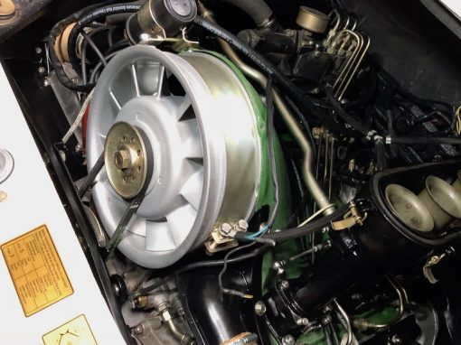 Revisie en montage Porsche 911 motor