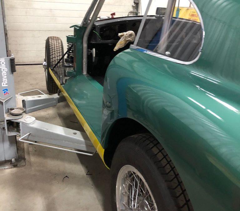 Ombouw Aston Martin DB2