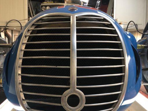 Afstellen Maserati Formule-1 auto